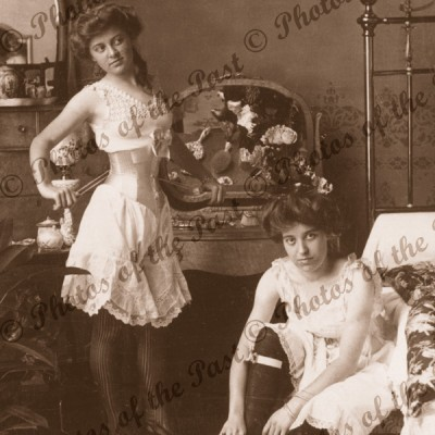 women underwear corsets bedroom c 1900
