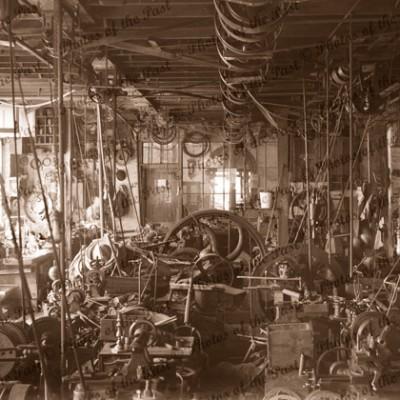 A.W.Dobbie & Co's workshop, Adelaide (cnr Gawler & Featherstone Pl's), SA South Australia, 1872