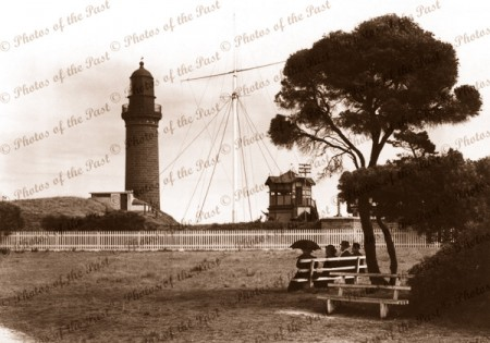 The Lighthouse, Queenscliff, Vic.c1920s. Victoria