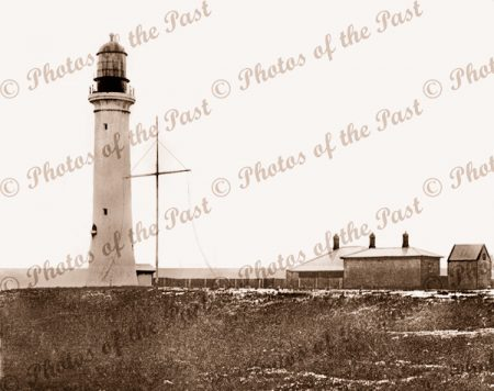 Split Point Lighthouse at Aireys Inlet, Vic. c1910's