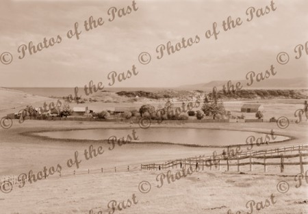 View to Angahook Homestead, Aireys Inlet, Vic.c1940s. Victoria.