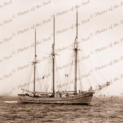 3m Schooner CORINGLE (Built as ketch 1909. Converted to schooner 1919)