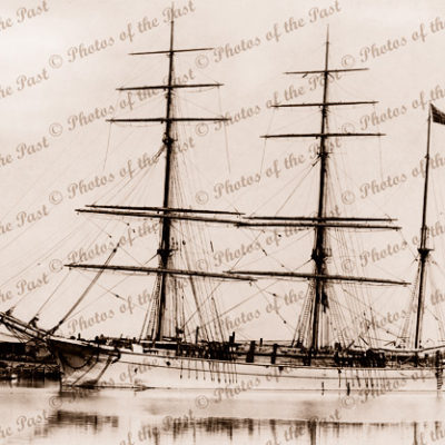 Barque CONCORDIA Built 1890. Shipping