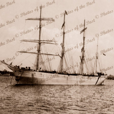 4m Barque COLONIAL EMPIRE. Built 1902. Shipping