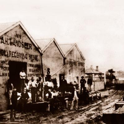 AH Landseer Wool Store, Victor Harbor, SA. South Australia