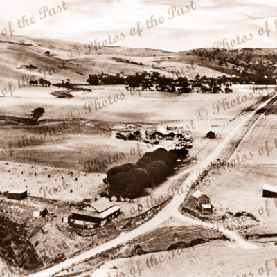 Second Valley, SA. View to Timber Mill. 1939. South Australia