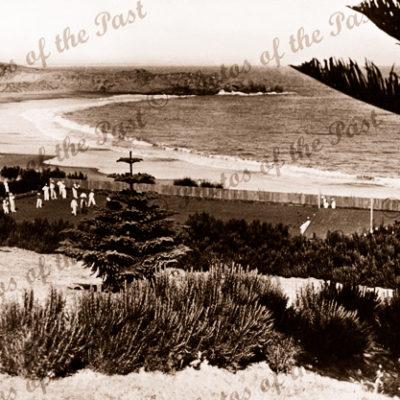 Bowling Green Pt. Elliot, SA. South Australia. c1940s