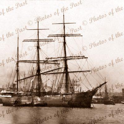 3M Barque HOMEWARD BOUND. Built 1895. Shipping