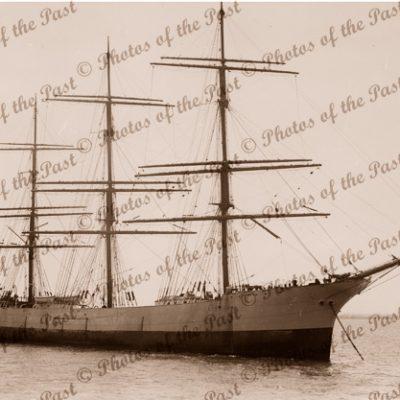 3M Ship SAMOENA. Built 1892. Shipping