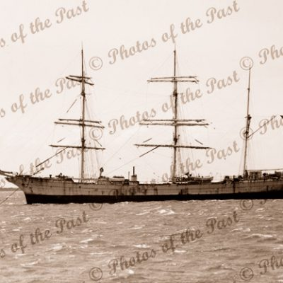 3M barque MOLIERE. Built 1895. Shipping