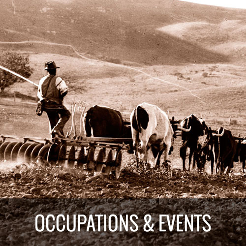 Occupations & Events