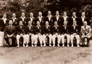 THE INVINCIBLES, 20th Australian Cricket Team to Great Britain 1948 Donald Bradman