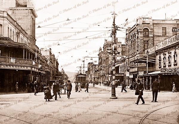 Grenfell Street, Adelaide c1920s South Australia trams