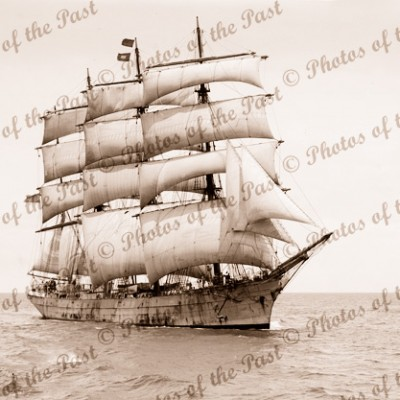 4M Barque SVITHIOD tall sailing ship