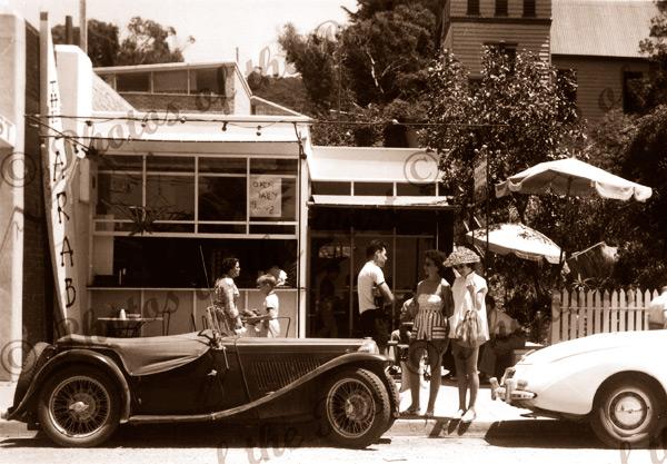 The 'Arab Espresso', Lorne, Victoria.1956 cars fashion