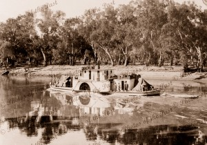 Reflections of the river trade PS PYAP c1920s