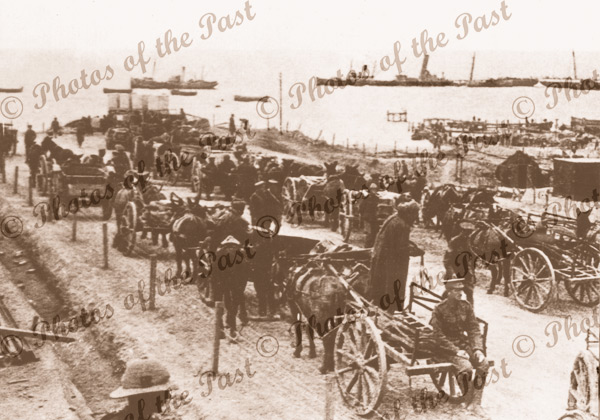 Evacuation of Gallipoli WW1. Dec 1915