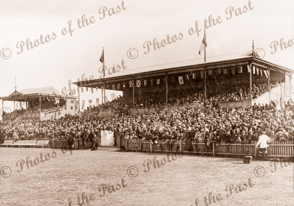 Opening of the new Pavilion, Unley Oval.SA 24 May 1924 South Australia