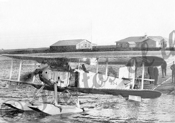 Fairey III-D seaplane at Point Cook, Vic.Victoria 1920