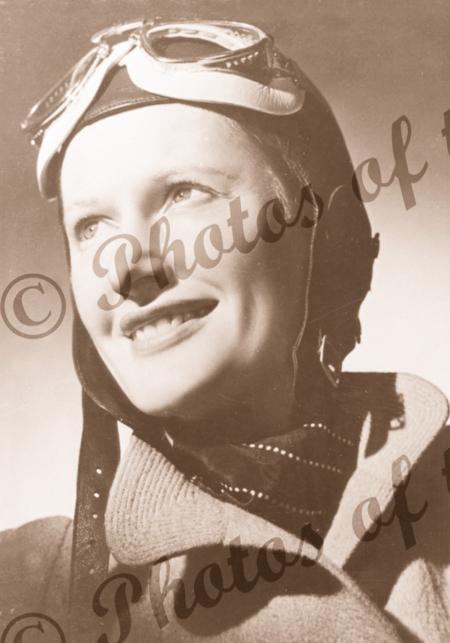 Aviatrix Nancy Bird-Walton (portrait)