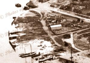 McFarlane's Slipway, Cruickshank's Corner, Port Adelaide, SA c1938