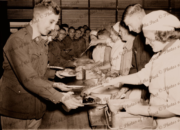 In the Army canteen c1940s SA South Australia