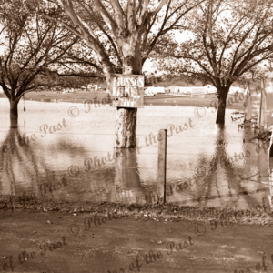 'Musso Lake' flooded Army camp, Pasadena, SA. 1940
