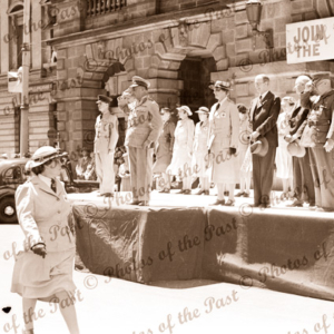 Red Cross, march past, Adelaide, Town Hall, SA South Australia 1940