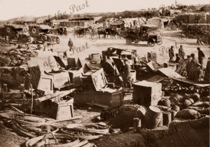 Anzac Cove, Gallipoli. Getting ready for attack on Lone Pine,WW1 Aug 1915