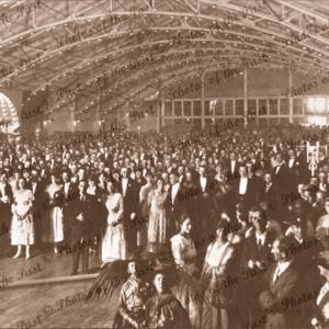 Opening of Palais de Dance ballroom, North Tce, Adelaide, SA. 23 April 1920. South Australia