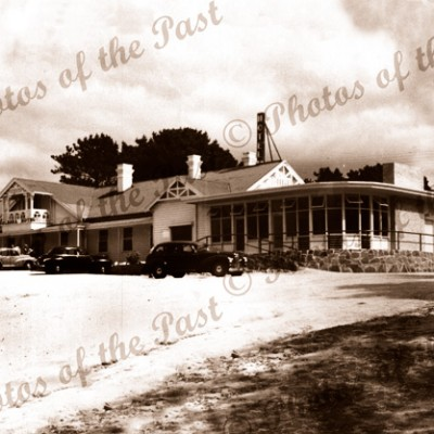Bond's Anglesea Hotel, Anglesea, Vic. Victoria. Great Ocean Road 1950s