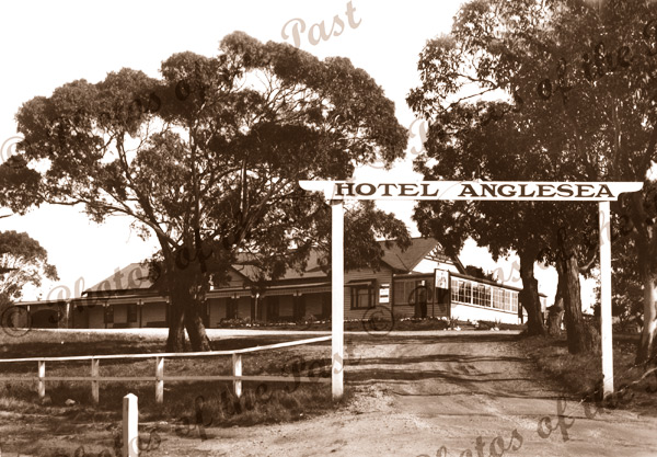 Anglesea Hotel, Anglesea, Vic.Victoria. Great Ocean Road c1940s