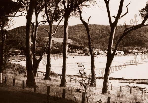 """""""Early"""" View of Lorne, Vic.Victoria. Great Ocean Road"""