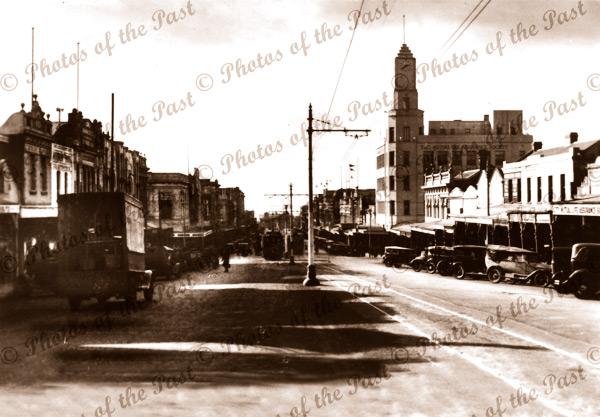 Moorabbool Street, Geelong, Vic.Victoria. 1920s