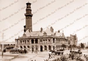 Melbourne Fire Station, Vic. c1900s Victoria