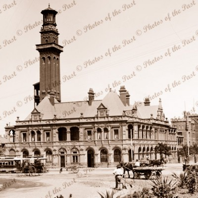 Melbourne Fire Station, Vic. c1900s Victoria