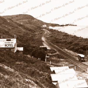 View to Split Point Lighthouse, Aireys Inlet, from Eastern View Hotel,Vic. 1930s