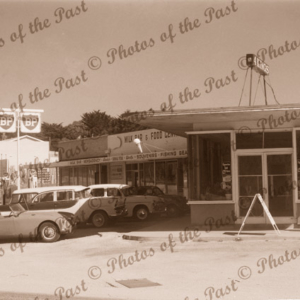 Four Kings Roadhouse, Anglesea, Vic. Victoria. Great Ocean Road. c1950s