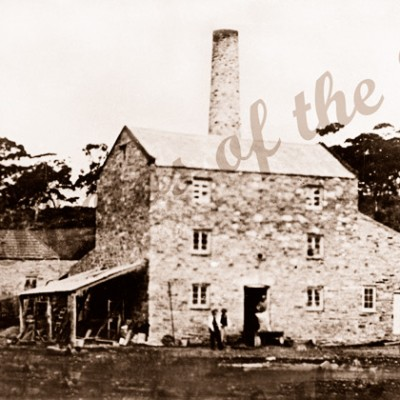 Roper's Flour Mill, Second Valley, SA. c1860s. Leonards Mill. South Australia. Finnis Vale