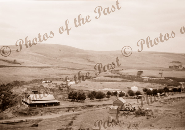 Jetty House & camping grounds, Second Valley, SA. South Australia.. c1929. Finnis Vale