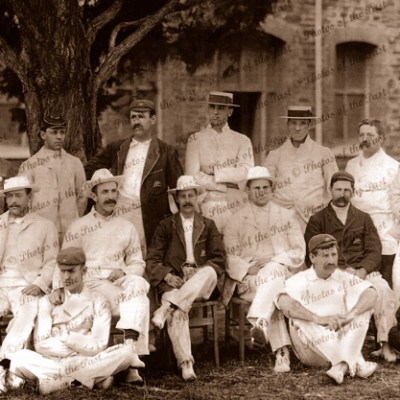 NSW New South Wales Cricket Team (1900-01) in Adelaide, South Australia