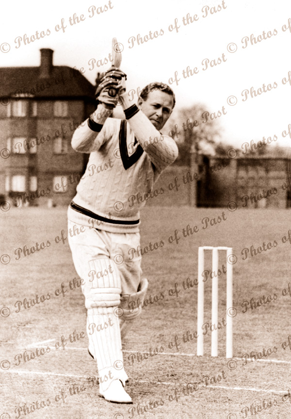 Australian cricketer, Arthur Morris. c1940s