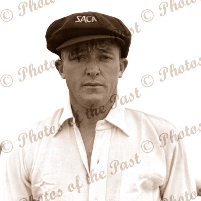 Australian cricketer, Ron Hamence. c1936