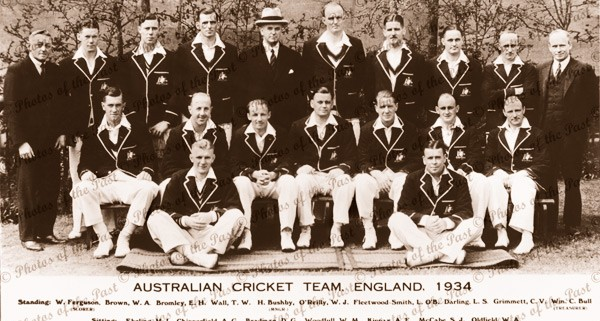 Australian Cricket team in England, 1934