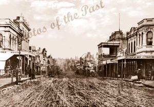 Bridge St. Ballarat, Vic.c1866. Victoria.