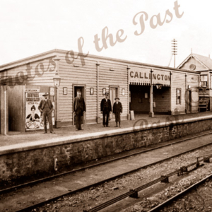 Callington Railway Station, SA. c1901. South Australia.