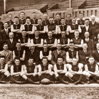 Norwood Football Club, Premiers, SANFL, 1929, South Australia. Football