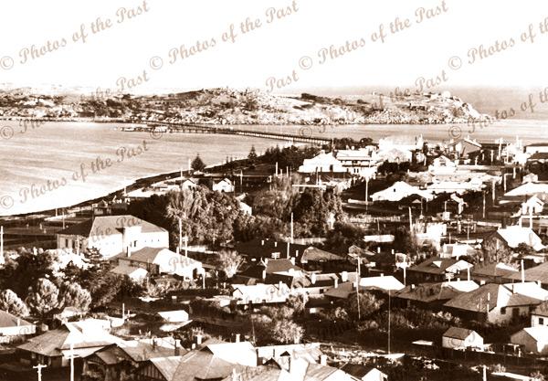 Victor Harbor & Granite Island, SA. c1920s. South Australia.
