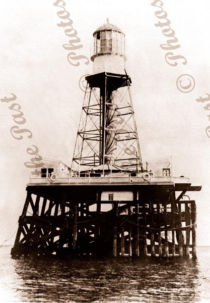 Outer Harbor light, SA. c1890s. South Australia. lighthouses