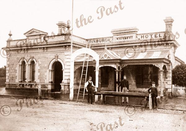 Edinburgh Inn (hotel), High St, Mitcham, SA. 1880. South Australia